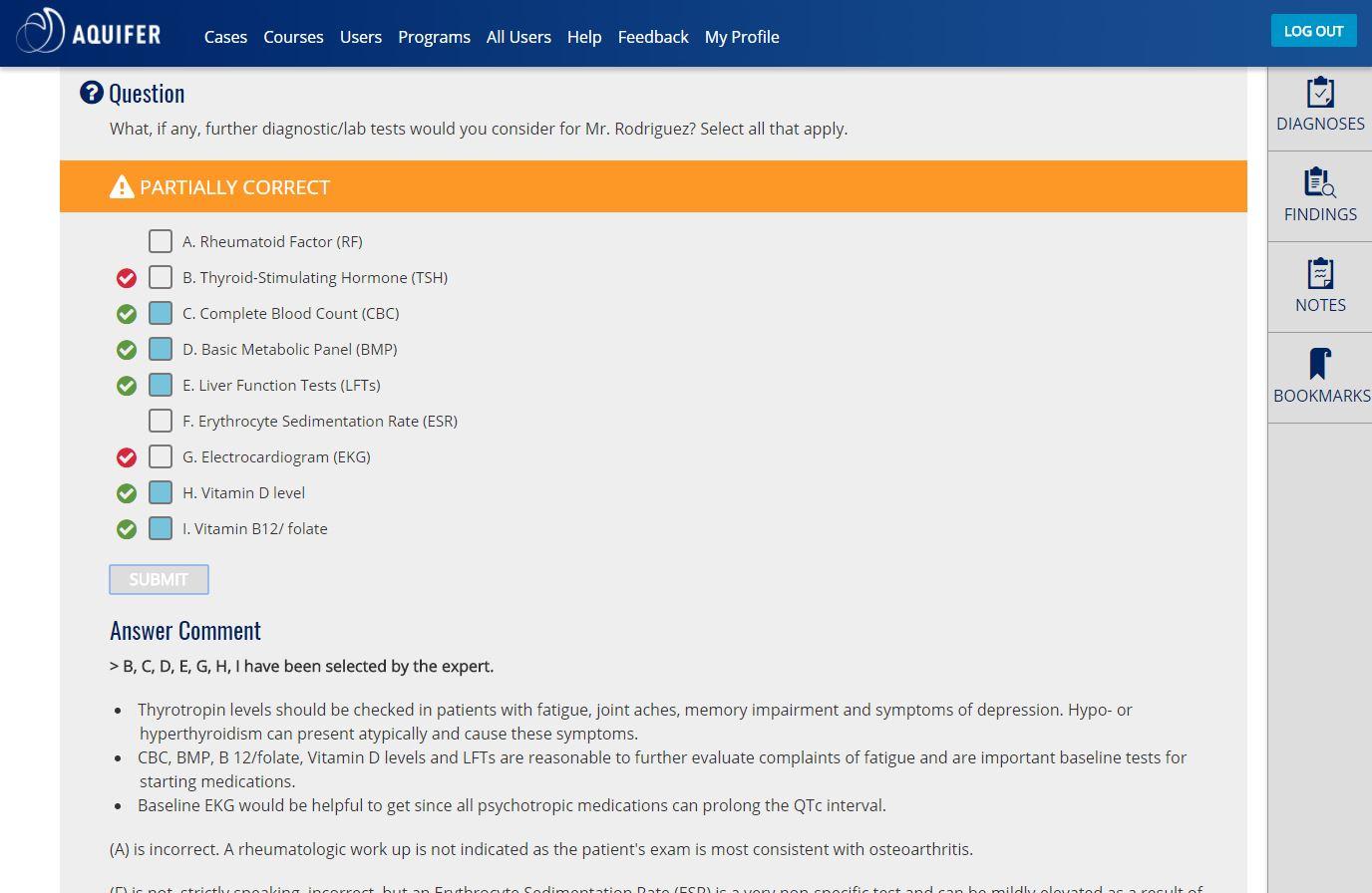 Aquifer Geriatrics (formerly webGEMs) | Case-Based Virtual Course