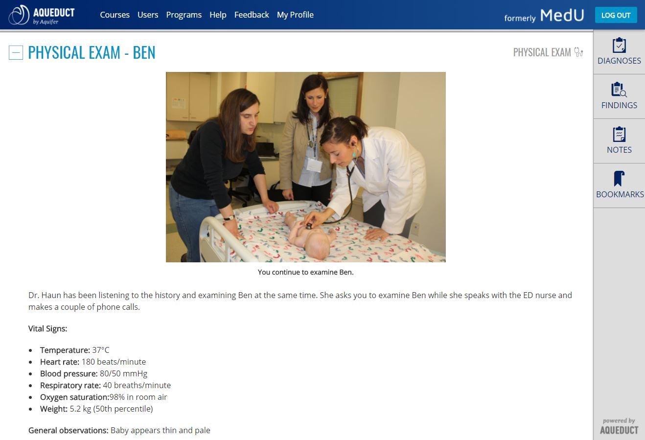 Aquifer Pediatrics (formerly CLIPP)   Case-Based Virtual